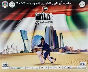 affiche abu dhabi judo