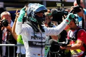Rosberg qualif Allemenage