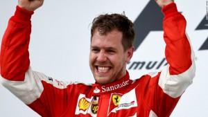Vettel Singapour 2015