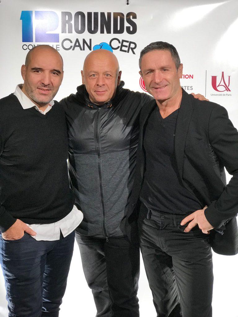 Larbi BENBOUDAOUD, Thierry MARX et Benoit CAMPARGUE